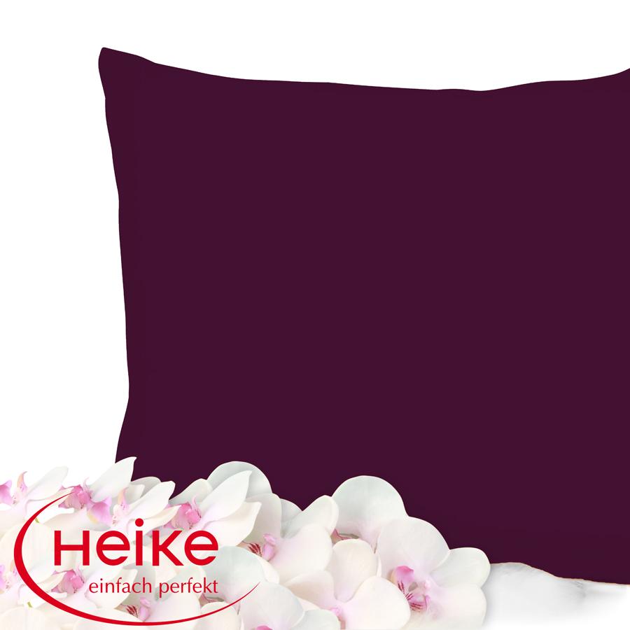 heike mako interlock jersey kissenbezug 35x40 40x60 40x80 80x80 cm ebay. Black Bedroom Furniture Sets. Home Design Ideas