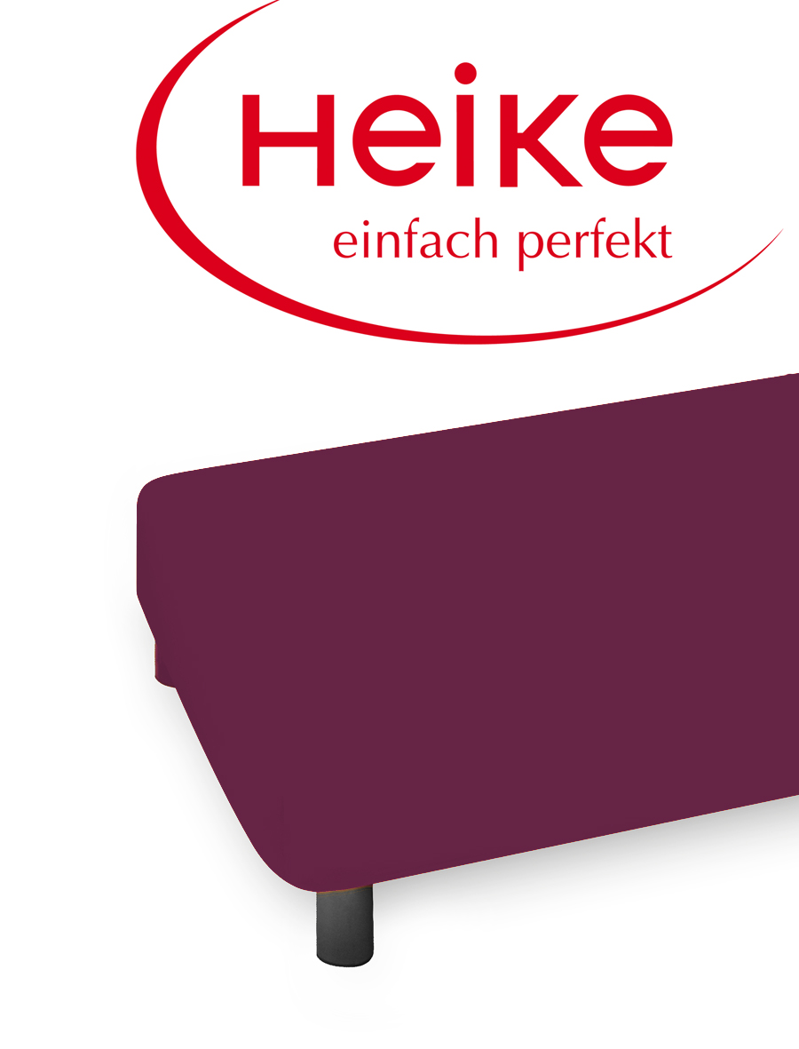 heike comfort jersey spannbettlaken 100 120 140 160 180 200 x 200 cm ebay. Black Bedroom Furniture Sets. Home Design Ideas