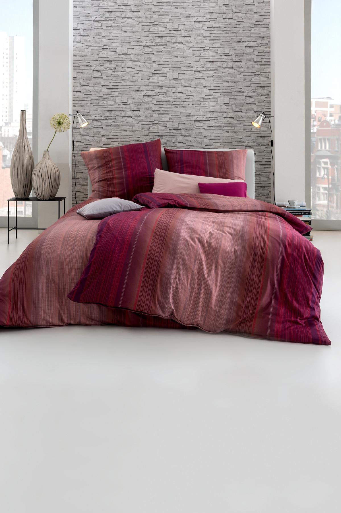 estella interlock mako jersey bettw sche luke in ziegel 135 x 200 155 x 220 schlafst. Black Bedroom Furniture Sets. Home Design Ideas