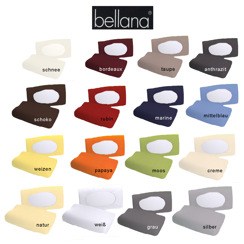 Bellana Mako Jersey Gesundheitskissen Kissenbezug 30-50 x 40x80 cm / 8-15 Höhe