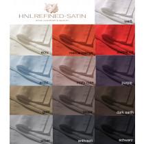 HnL Normal Bettlaken zum Auflegen Mako Satin 270 x 290 cm 13 Farben