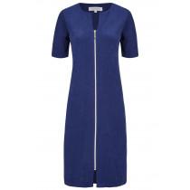 Ringella Damen Frottee Kleid Strandkleid Hauskleid Reißverschluss marine Blau Gr. 50 54Ringella Damen Frottee Kleid Strandkleid Hauskleid Reißverschluss marine Blau Gr. 50 54