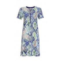 Ringella Damen Sommer Kleid kurzer Arm 1221002 Bunt Gr. 38 S Muster