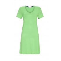 Ringella Damen Sommer Kleid kurzer Arm 1221003 Grün Gr. 38 S Muster Its for you