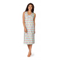 Comtessa Damen Nachthemd ohne Arm Mehrfarbig 36 38 40 42 44 46 48 50 52 54 S M L XL XXL