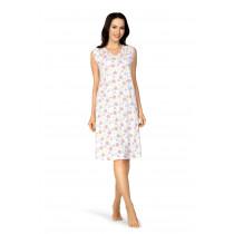 Comtessa Damen Nachthemd 201236  ohne Arm Weiß Gr. 36-38 XXXL 100% Baumwolle
