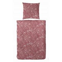 Primer Soft Jersey Bettwäsche in Rot 140x200 + 70x90 cm