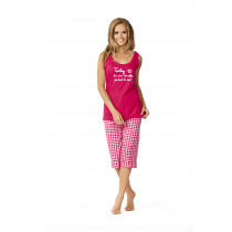 Comtessa kurzer Schlafanzug Pyjama Damen in fuchsia Gr. 40 42 44 46 48 50 52