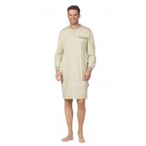 Comte 62704 Herren Nachthemd langer Arm 100% Baumwolle Sand Gr. 50 M