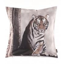 Proflax Kissenhülle Akira Tiger 50 x 50 cm Braun Natur