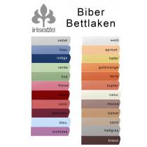 Irisette Fein Biber Normal Bettlaken Betttuch  150x250 cm zum Auflegen