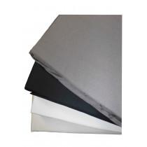 Papillon Baumwoll Satin Spannbettlaken 100% Baumwolle 90 140 160 180 x 200 cm weiß grau natur schwarz