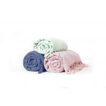 Hamam Sauna Tuch Handtuch Byrklund Baumwolle Frottee rosa mint blau