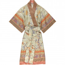 Bassetti Damen Kimono Fong V2 Beige Terra S-M L-XL