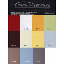 Primera Kissen Bezug  Seitenschläfer 40x140 cm Mako Jersey 100% Baumwolle