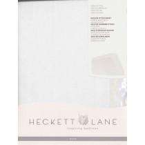 HnL Molton Matratzenauflage Matratzenschoner Matratzenbezug 100% Baumwolle in weiß