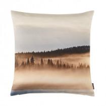 Proflax Kissenhülle Nebel Wald Nebbia 50 x 50 cm Natur