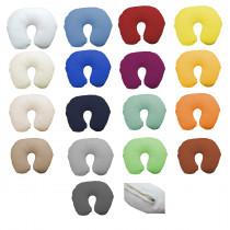 Flausch Frottee Nackenhörnchen Bezug von Kneer in 17 Farben