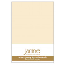 Janine Mako Fein Jersey Spannbettlaken 140-160 x 200 26 Leinen 1x