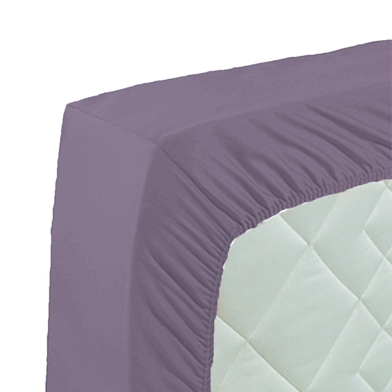 curt bauer mako satin spannbettlaken 180x200 in 21 farben ebay. Black Bedroom Furniture Sets. Home Design Ideas